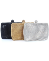 Customized Full Crystal Bag
