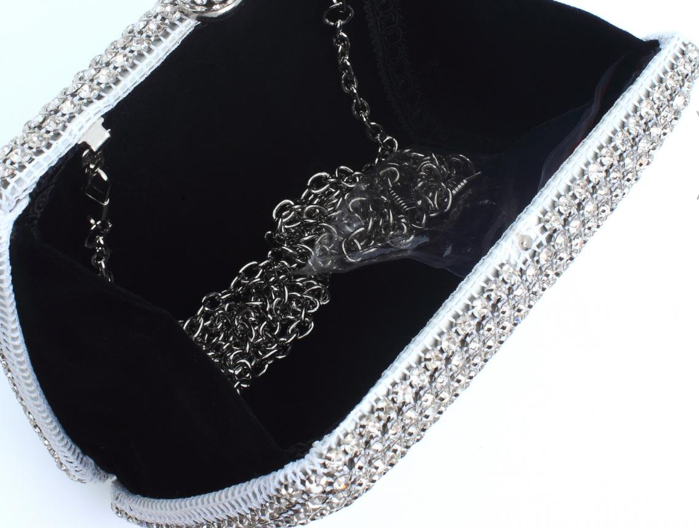 Customized Full Crystal Bag