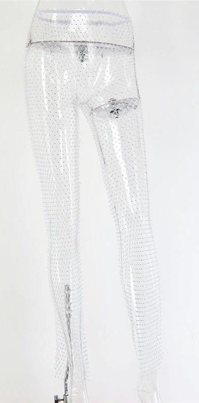Crystal Mesh Pants