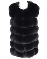 Fox Fur Gilet Jillian Short