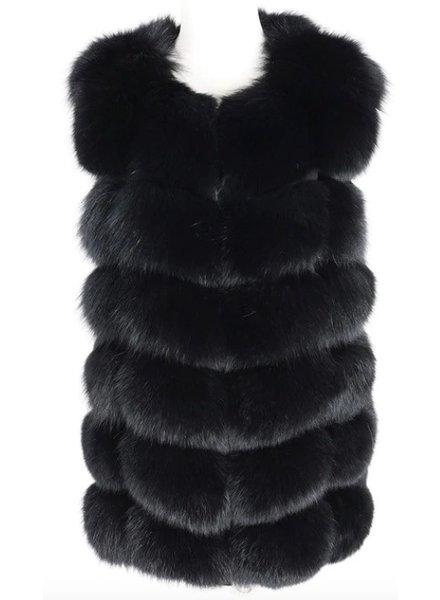 Fox Fur Gilet Jillian Short