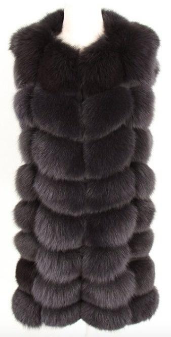 Fox Fur Gilet Jillian Long