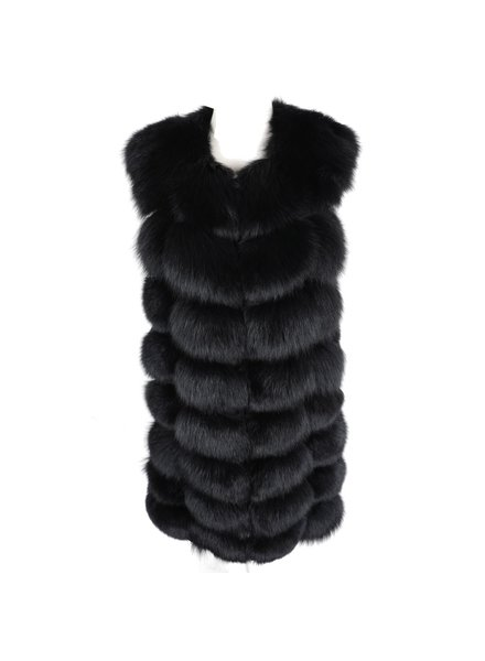 Fox Fur Gilet Jillian Long