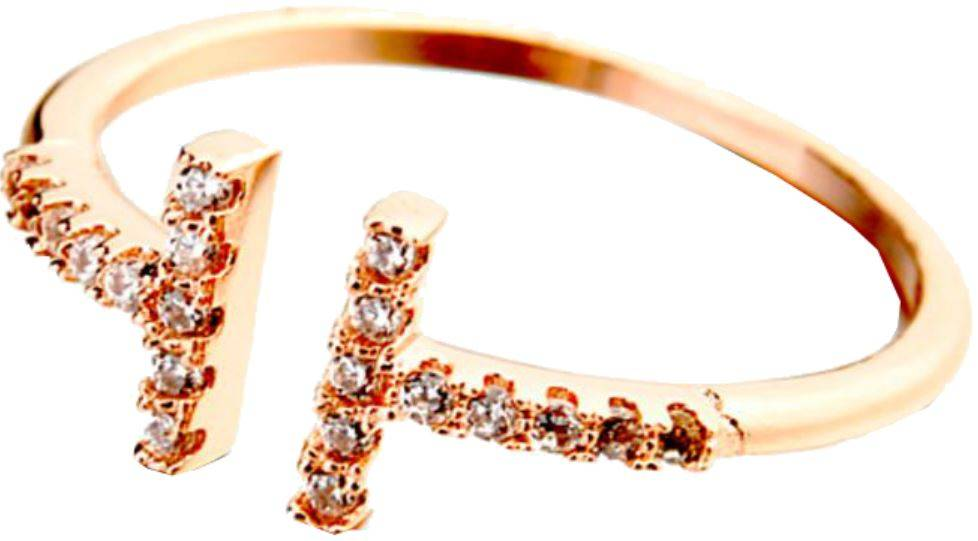 T Ring Crystal