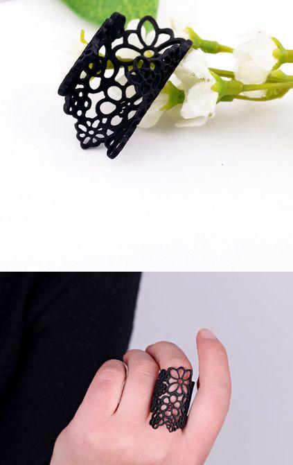 Ring Flower Finger