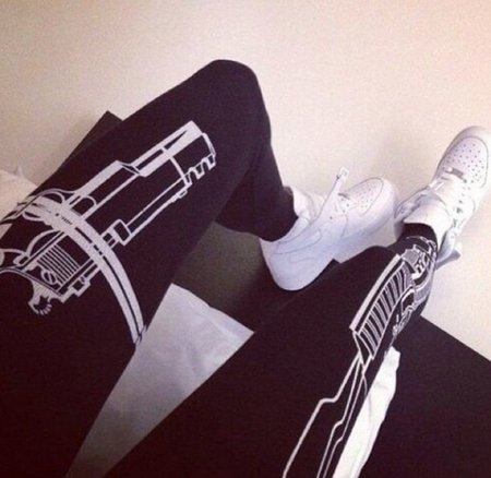 Legging Gun