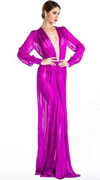 Maxi Dress Split Luxia