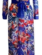 Maxi Dress Split Calice