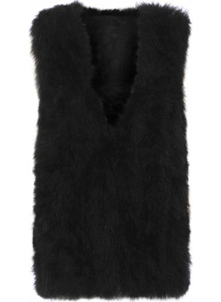 Fur Gilet Vincenza Long