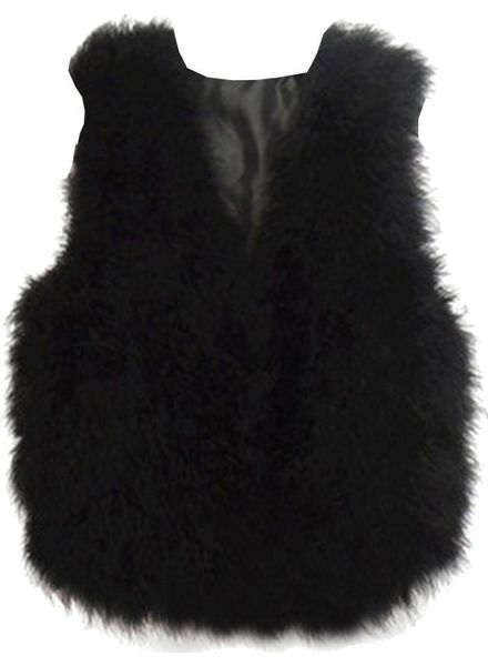 Fur Gilet Vincenza Short