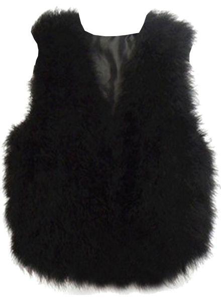 Fur Gilet Vincenza Short