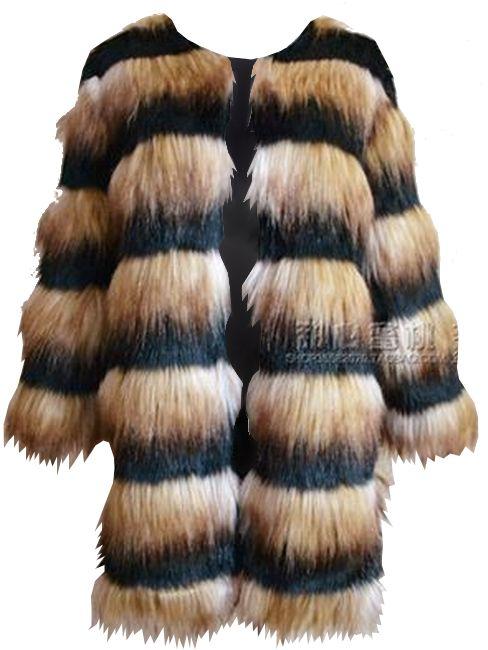 Faux Fur Jacket Gitel