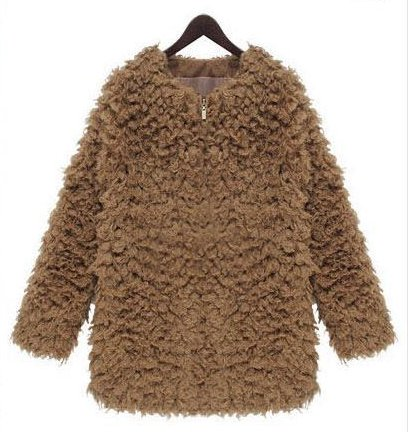 Faux Fur Jacket Geltrude