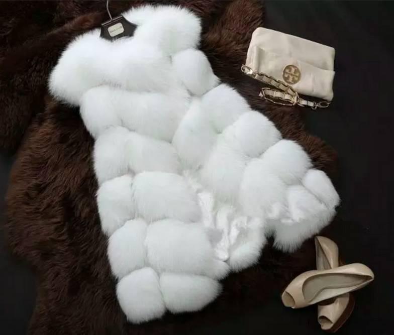 Faux Fur Gilet Trilby