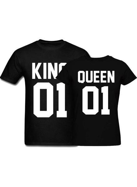 T-shirt Set King & Queen