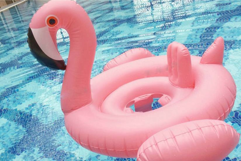 Flamingo Float 70 cm