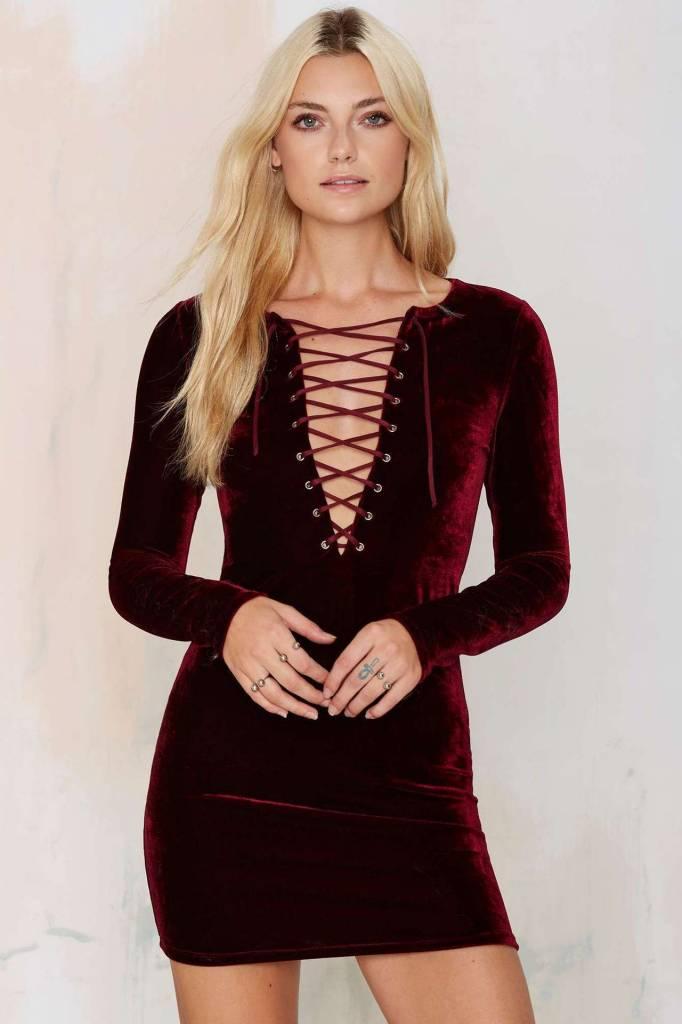 Dress Velvet Tie