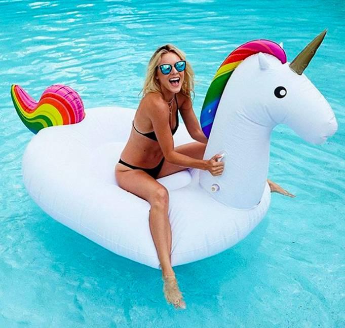 Giant Unicorn Float 270 cm (2 PCS)