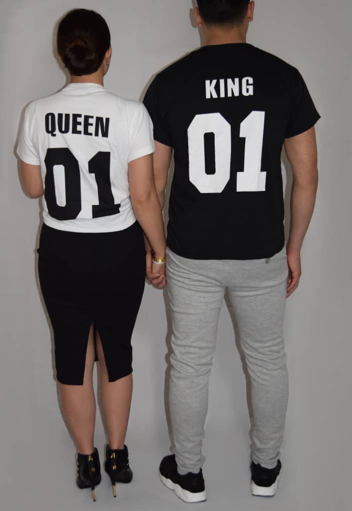 T-shirt Set King & Queen