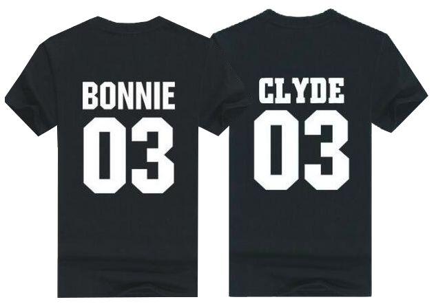 T-shirt Set Bonnie & Clyde