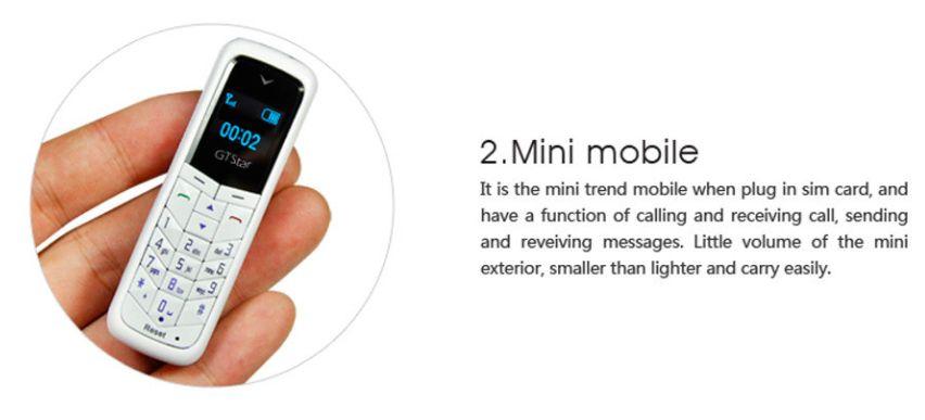 Mini Phone GTstar