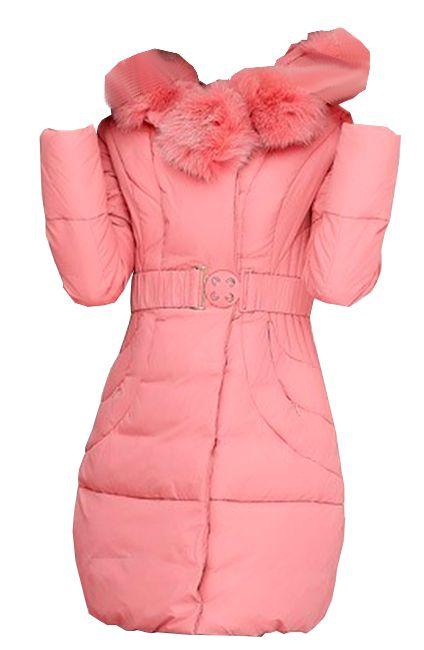 Padded Jacket Faux Fur Zoe