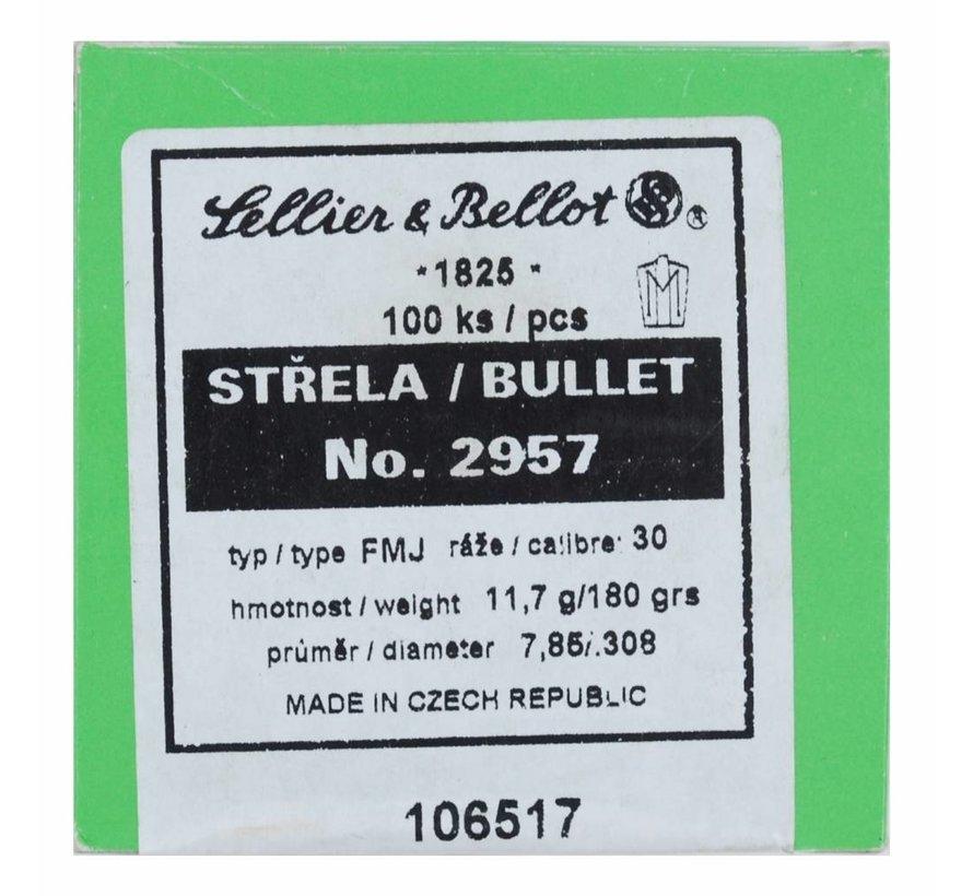 Sellier & Bellot kogelkoppen Kal. .308 180gr