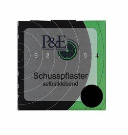 P&E P&E Schotplakkers 15mm Zwart
