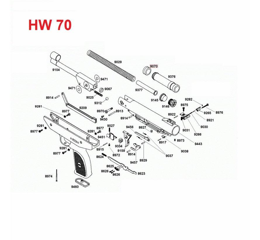 Weihrauch HW 70 Zuigerkop 9070