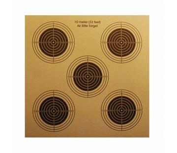 Hatsan Target paper Hatsan 14x14 cm