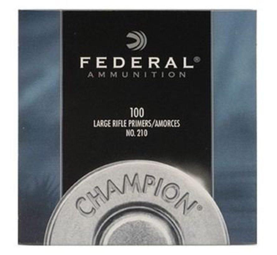 Federal Large Rifle Primer NO. 210