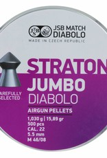 JSB Cometa JSB Straton Jumbo Diabolo 5.50mm 18.89gr (500st)