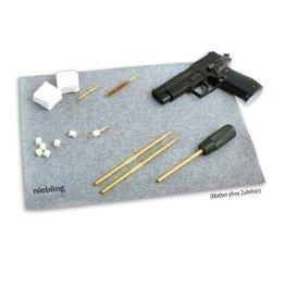 Niebling Niebling reinigingsmat / 450 x 300 mm / Grijs