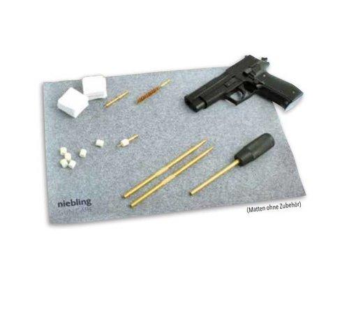 Niebling Wapen reinigingsmat voor pistool en revolver