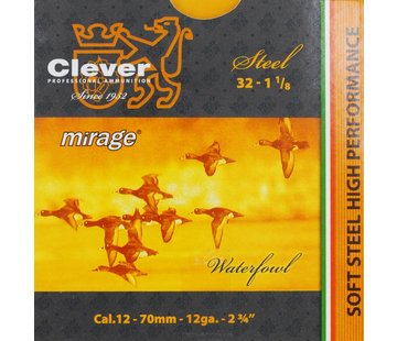 Clever Clever Mirage 32 gram Hagelpatronen Kal. 12