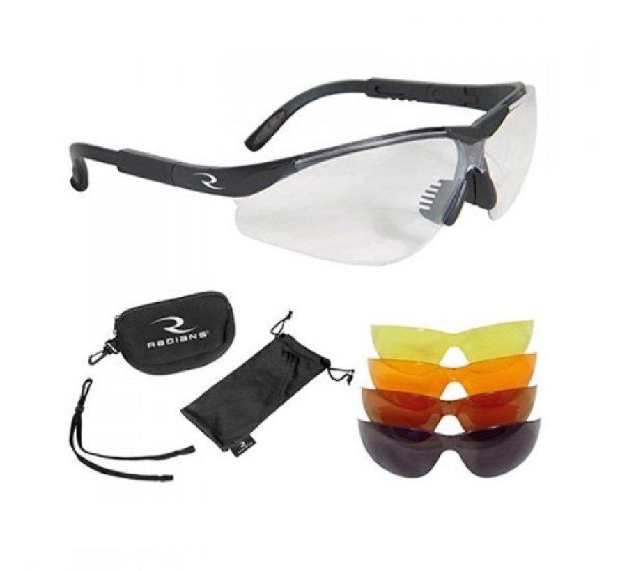 Radians schietbril 5 Lens Kit