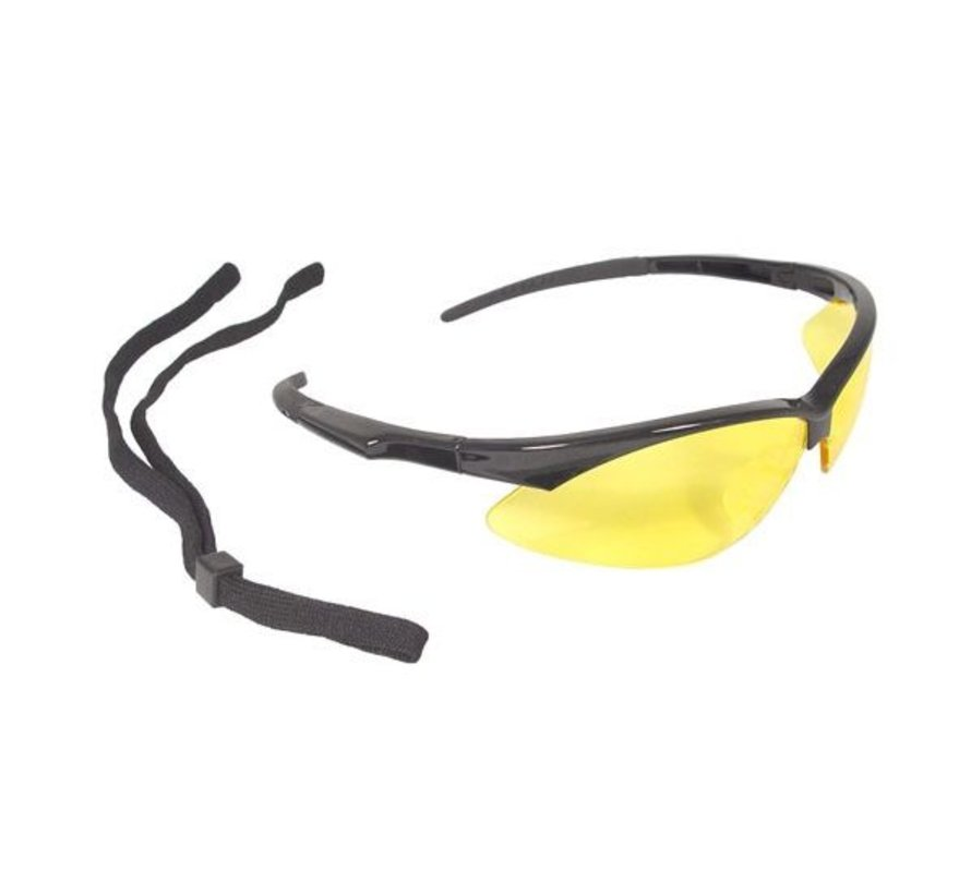 Radians schietbril Outback geel