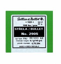 Sellier & Bellot Sellier & Bellot kogelkoppen 6,5 140gr