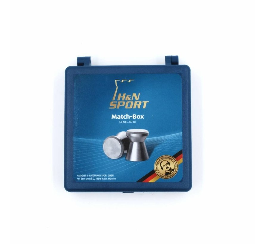 H&N Match Pellet Box 4.5mm