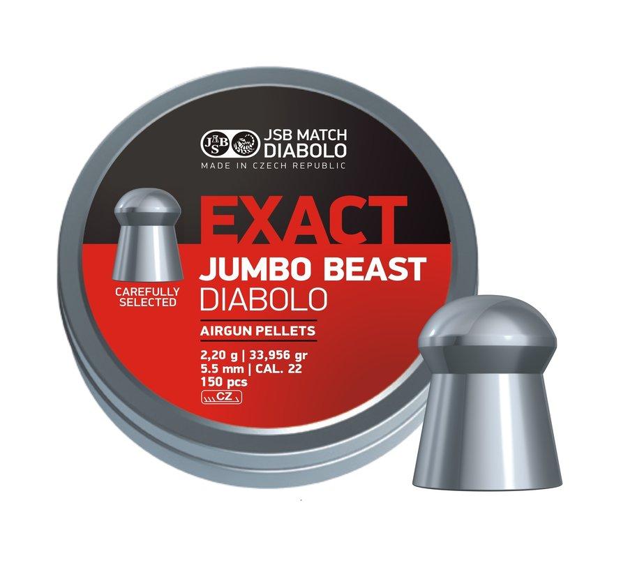 JSB Jumbo Beast Diabolo 5,52mm 33,956gr