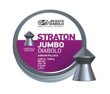 JSB  JSB Straton Jumbo Diabolo 5.50mm 15.89gr (500st)