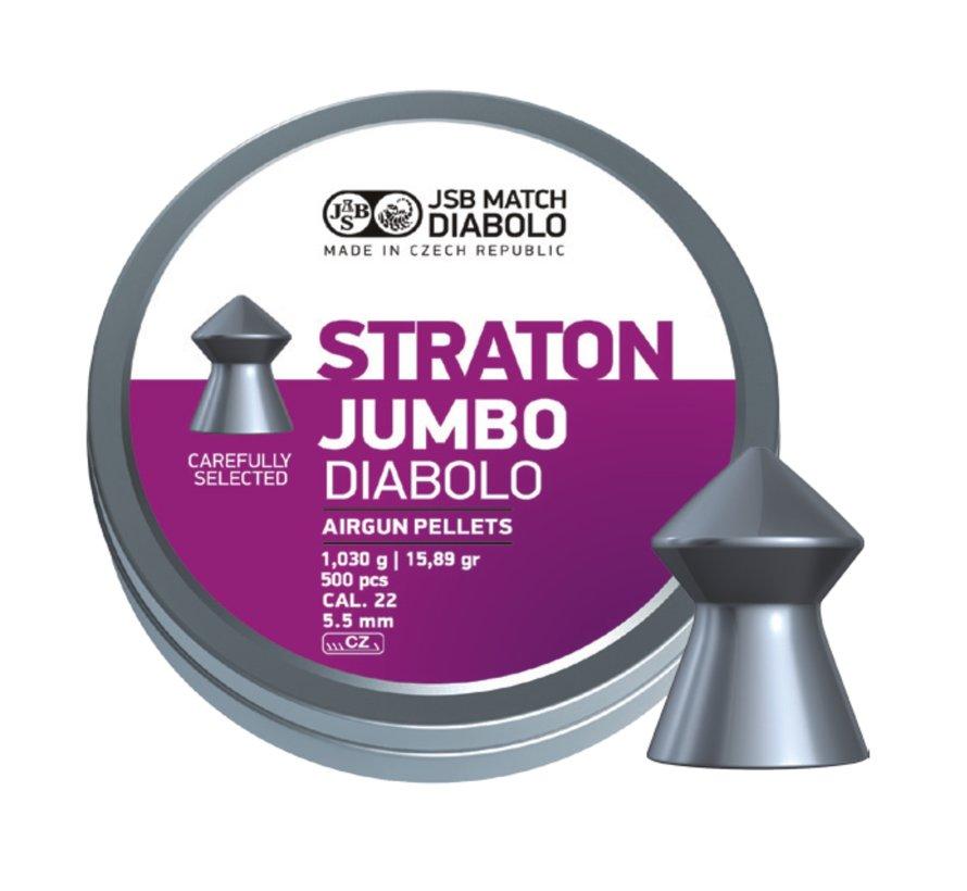 JSB Straton Jumbo Diabolo 5.50mm 15.89gr (500st)