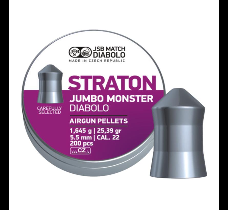JSB Straton Jumbo Monster Diabolo 5,51mm 25,39gr