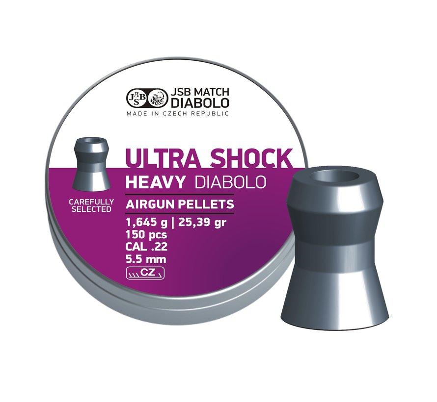 JSB Ultra Shock Heavy Diabolo 5.52mm 25.39gr