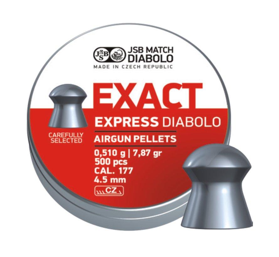 JSB Exact Express Diabolo 4,52mm 7,87grain