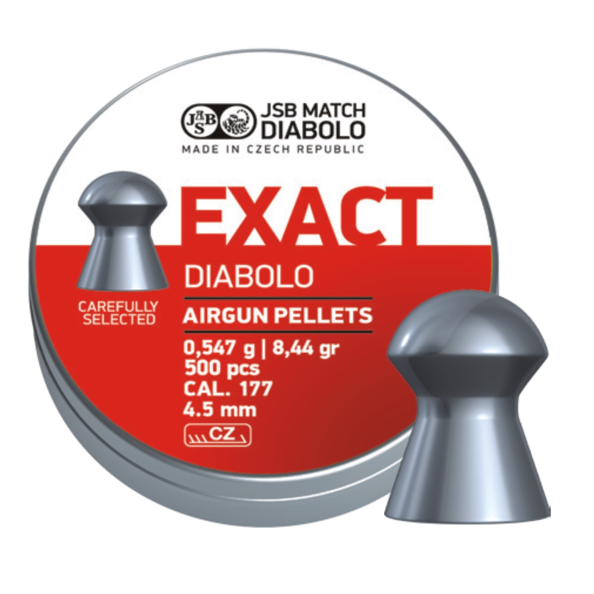 JSB  JSB Exact Diabolo 4.50mm 8,44 gr