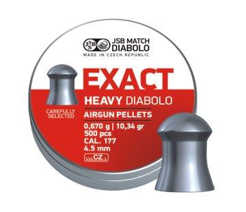 JSB  JSB Exact Heavy Diabolo 4,52mm 10,34 grain