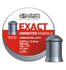 JSB  JSB Exact Monster Diabolo 4,52mm 13,43 grain