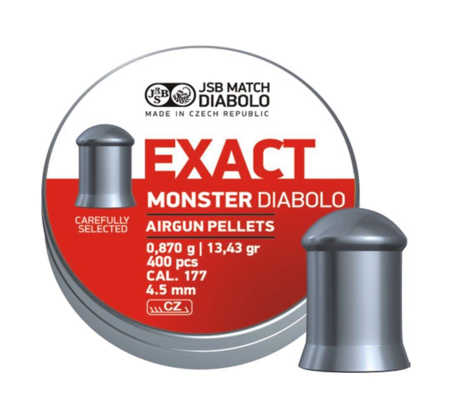 JSB Exact Monster Diabolo 4,52mm 13,43 grain