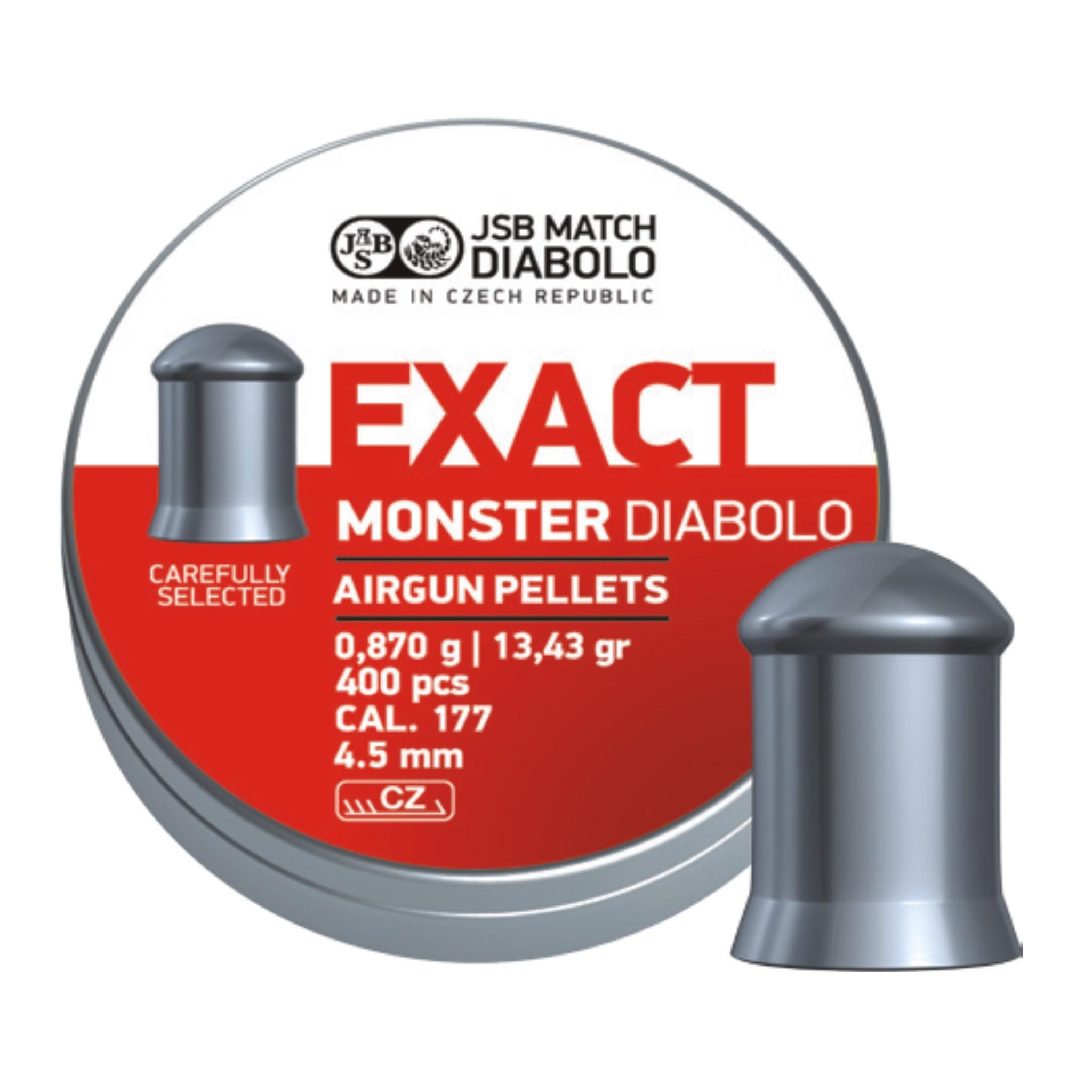 JSB  JSB Exact Monster Diabolo 4,52mm 13,43 grain